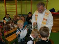 Taufe in der KiTa mit Dekan Mühleck
